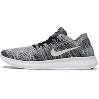 Nike Free RN Flyknit Junior - Black/White - Kids