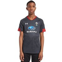 Under Armour Wales RU Away 17/18 Shirt Junior - Grey/Red - Kids