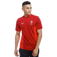 Under Armour Wales RU Training T-Shirt - Red - Mens