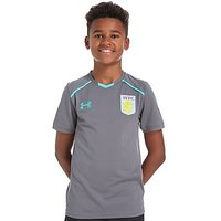 Under Armour Aston Villa 2017/18 Training T-Shirt - Grey - Kids