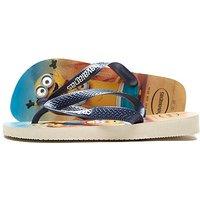 Havaianas Minions Flip Flops Children - Beige/Navy - Kids