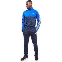 adidas Back 2 Basics Track Suit - Navy/Blue - Mens