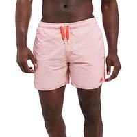 adidas Stripe Swim Shorts - Red/White - Mens