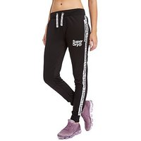 Superdry Tape Tricot Track Pants - Black - Womens
