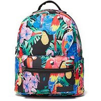 Superdry Urban Jungle Backpack - Multi Coloured - Mens