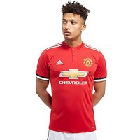 adidas Manchester United 2017/18 Home Shirt PRE ORDER - Red/White - Mens