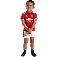 adidas Manchester United 2017/18 Home Kit Infant - Red - Kids