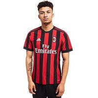 adidas AC Milan 2017/18 Home Shirt - Red/Black - Mens
