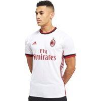 adidas AC Milan 2017/18 Away Shirt - White - Mens, White