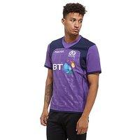 Macron Scotland Rugby 2017/18 Training Shirt - Purple - Mens