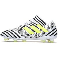 adidas Dust Storm Nemeziz 17.1 FG - White/Solar Yellow - Mens