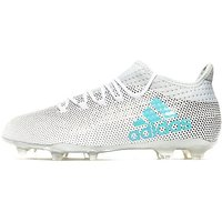 adidas X 17.2 FG - White/Energy Blue - Mens