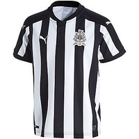 PUMA Newcastle United 2017/18 Home Shirt Junior - Black/White - Kids