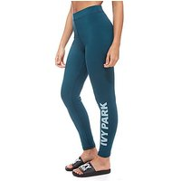 IVY PARK Logo Ankle Leggings - Blue - Womens