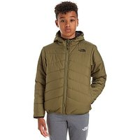 The North Face Perrito Reversible Jacket Junior - Olive/Black - Kids