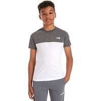 The North Face Colour Block T-Shirt Junior - White/Grey/Black - Kids
