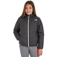 The North Face Girls Perrito Reversible Jacket Junior - Black/Black/White - Kids