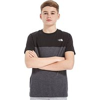 The North Face Colour Block T-Shirt Junior - Grey/Black - Kids