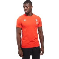Canterbury England RFU Cotton T-Shirt - Red - Mens