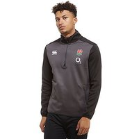 Canterbury England RFU ThermoReg Half Zip Top - Grey/Black - Mens