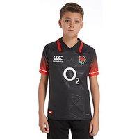 Canterbury England RFU Alternate 2017/18 Shirt Junior - Black/J - Kids