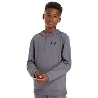 Under Armour Threadborne 1/4 Zip Hoodie Junior - Grey - Kids