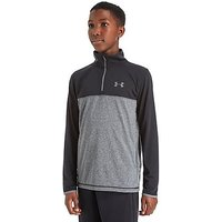 Under Armour Reactor 1/4 Zip Training Top Junior - Black/Grey - Kids