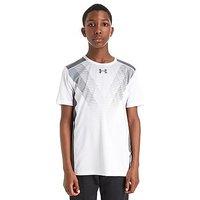 Under Armour Baseline T-Shirt Junior - White/Grey - Kids