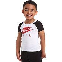 Nike Air Colour Block T-Shirt Infants - White/Red - Kids