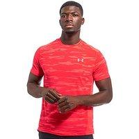 Under Armour TB Run Mesh T-Shirt - Red - Mens