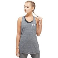 Under Armour Twist Tech Graphic Tank - Grey - Womens