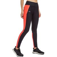 Under Armour Fly-By Leggings - Black/Red - Womens