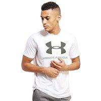 Under Armour Sportstyle Logo T-Shirt - White - Mens