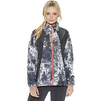 Under Armour International Printed Run Jacket - Black - Womens