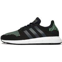 adidas Originals Swift Run - Black/Green/White - Mens