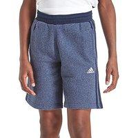 adidas Hybrid Fleece Shorts Junior - Navy - Kids