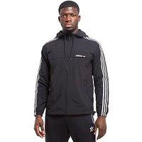 adidas Originals 3-Stripe Jacket - Black/White - Mens