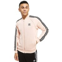 adidas Originals Superstar Track Top - Pink/Black - Mens