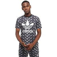 adidas Originals Soccer Trefoil Short Sleeve T-Shirt - Black - Mens