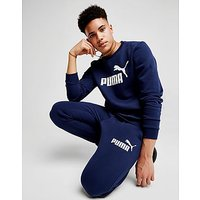PUMA Core Logo Crew Sweatshirt - Navy - Mens