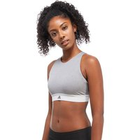 adidas Crop Bra - Grey - Womens, Grey