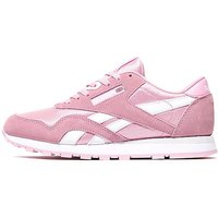 Reebok Classic Leather Nylon Children - Pink - Kids