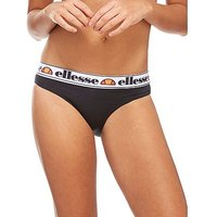 Ellesse Tape Bikini Briefs - Black - Womens