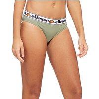 Ellesse Tape Bikini Briefs - Khaki - Womens