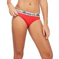 Ellesse Tape Bikini Briefs - Red - Womens