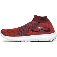 Nike Free Run Motion Flyknit 2 - Red - Mens