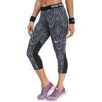 Nike Pro Sport Capri Leggings - Black - Womens