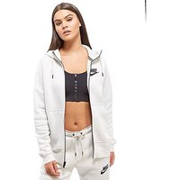 Nike Rally Futura Zip Hoodie - White - Womens