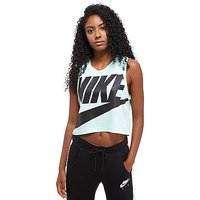 Nike Crop Tank - Mint/Black - Womens