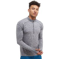Nike Dry Element Half Zip Running Top - Dark Grey - Mens